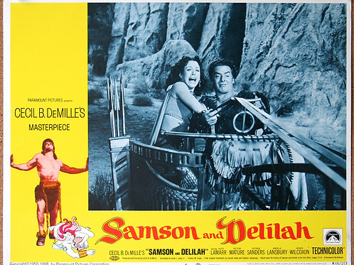 Samson and Delilah, 1949