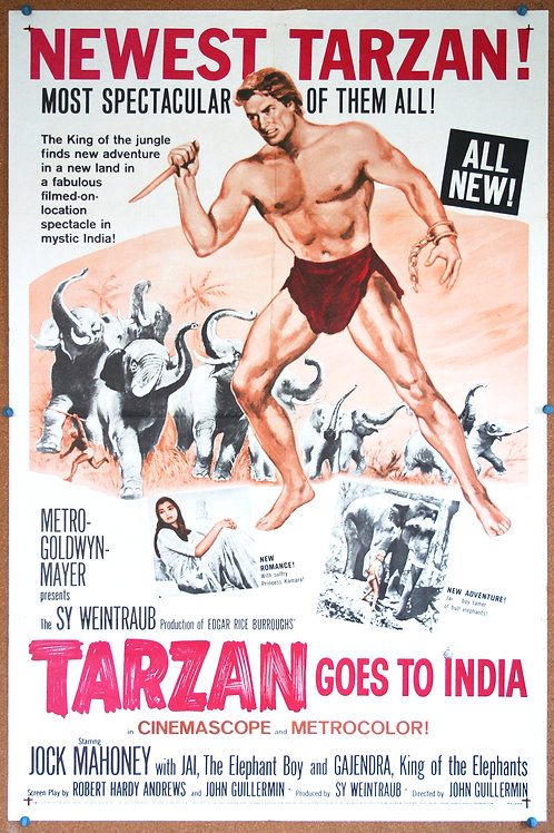 Tarzan Goes to India, 1962
