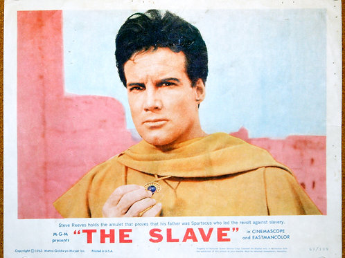 The Slave, the Son of Spartacus, 1963