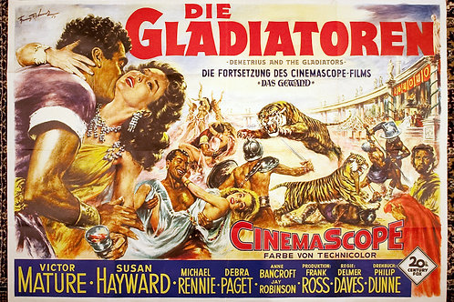 Demetrius and the Gladiators, 1954
