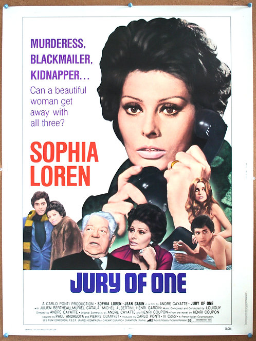 Jury of One (Verdict), 1974