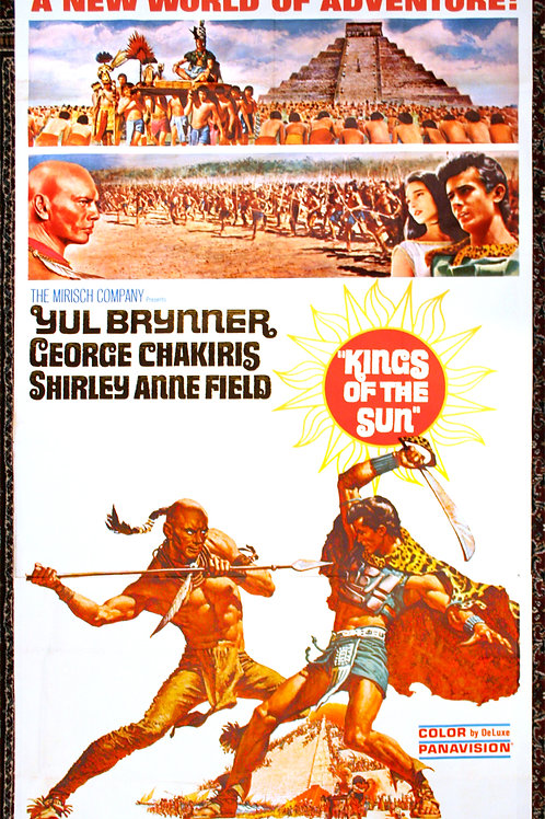 Kings of the Sun, 1963