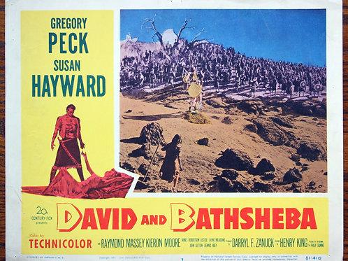 David and Bathsheba, 1951