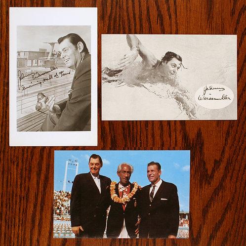 Johnny Weissmuller memorabilia