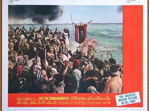 The Ten Commandments , 1956 (8 lobbies)