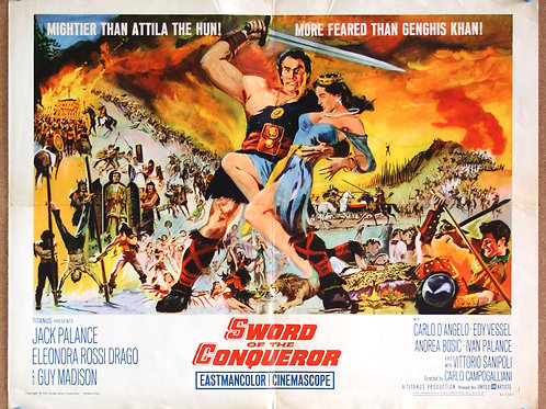 Sword of the Conqueror, 1961