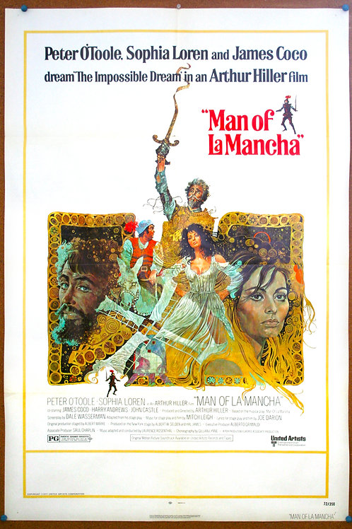 Man of La Mancha, 1972