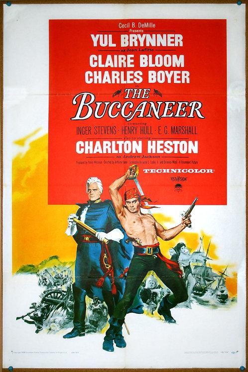 The Buccaneer, 1958