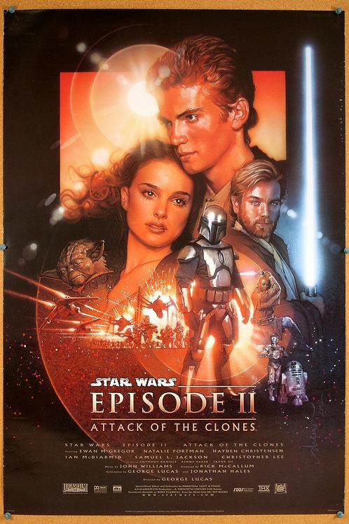 Attack of the Clones, Star Wars Episode II, 2002