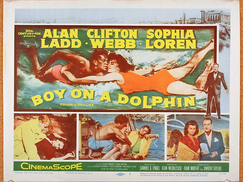 Boy on a Dolphin, 1957