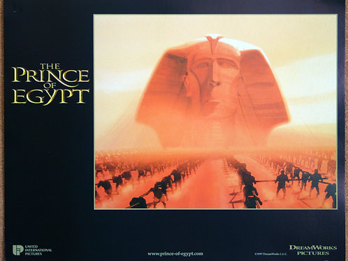The Prince of Egypt, 1998 (8 lobbies)