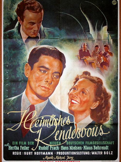 Secret Rendezvous, 1949