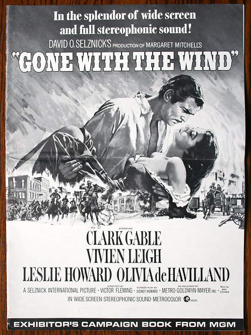 Gone With the Wind (press book 16-pg, 1939