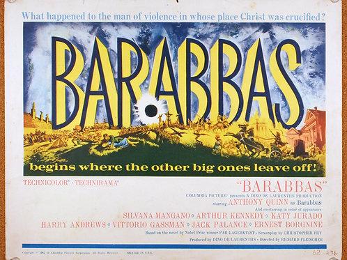 Barabbas (5), 1961