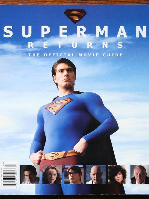 Superman Returns, The Official Movie Guide, 2006