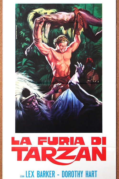 Tarzan's Savage Fury, 1952