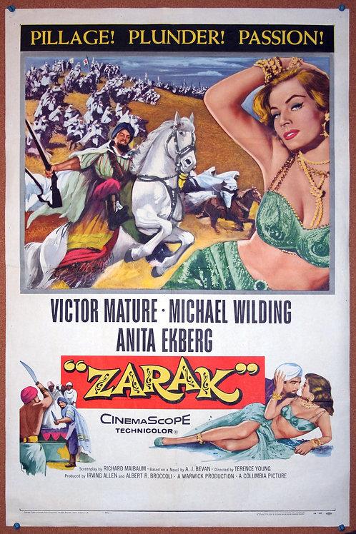 Zarak, 1956