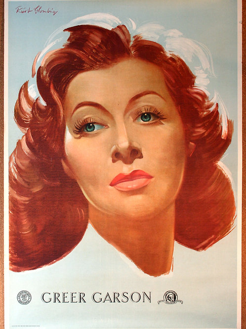 Greer Garson personality poster