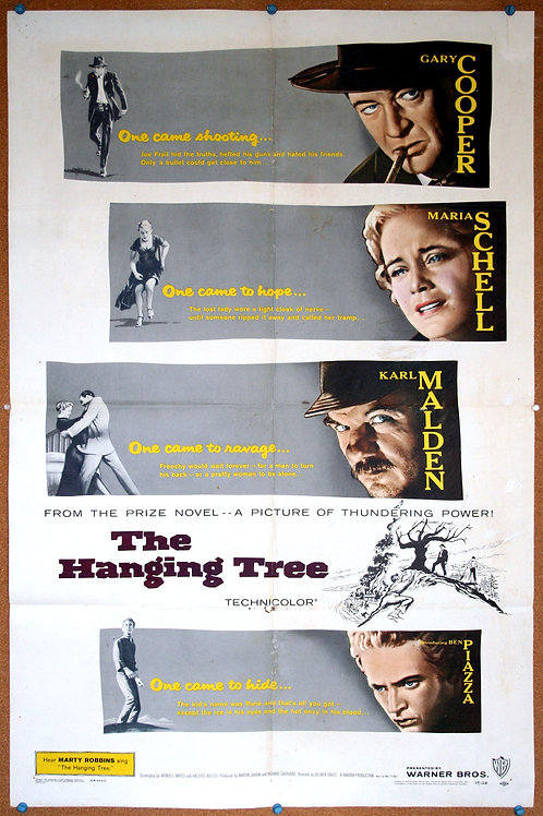 The Hanging Tree, 1959