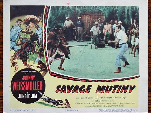 Savage Mutiny (a), 1953
