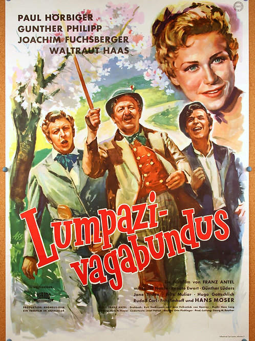 Roaming Vagabonds, 1956