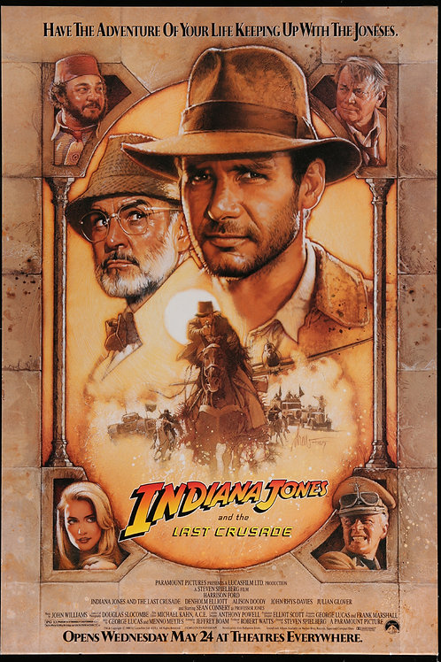 Indiana Jones and the Last Crusade, 1989
