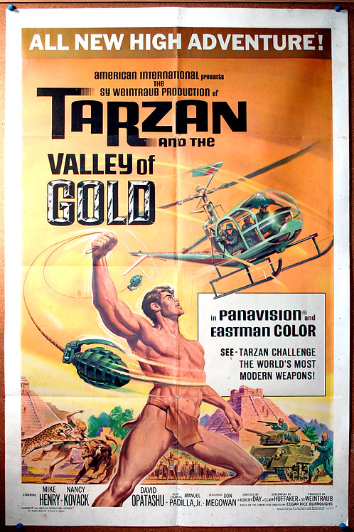 Tarzan and the Valley of Gold, 1966