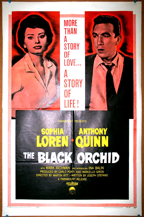 Black Orchid, 1959