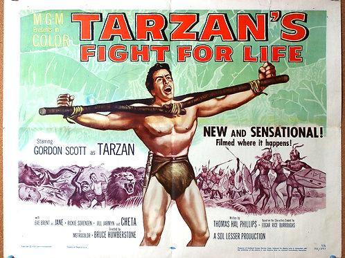 Tarzan's Fight for Life, 1958