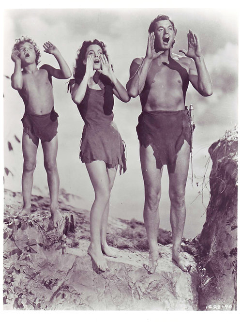 Tarzan Family Photo, 1940s