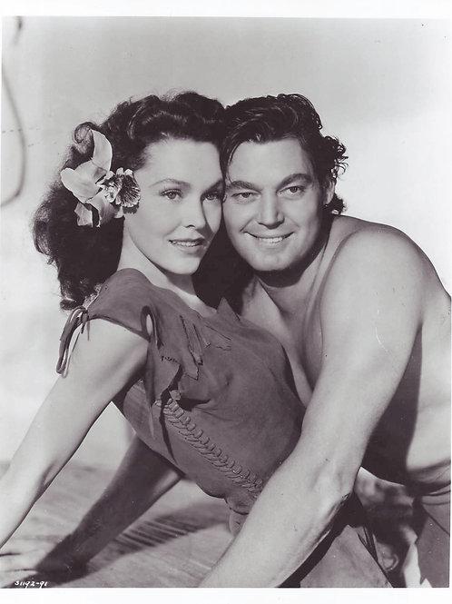 Tarzan and Jane portrait