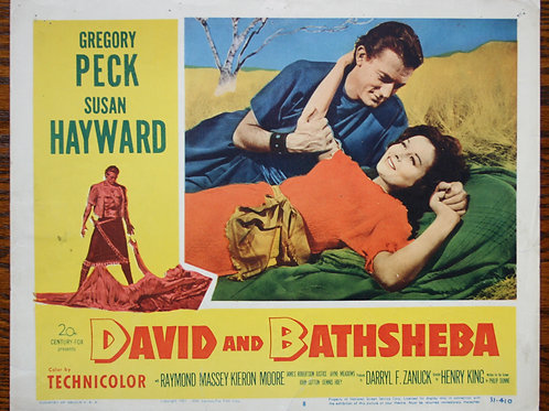 David and Bathsheba, (set)