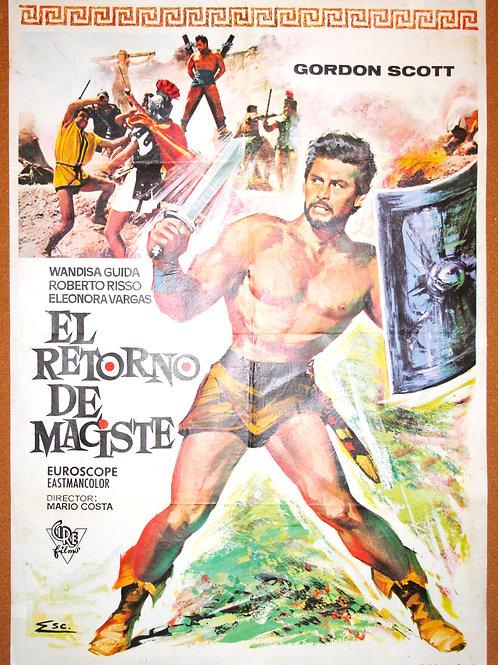 Gladiator of Rome, 1962