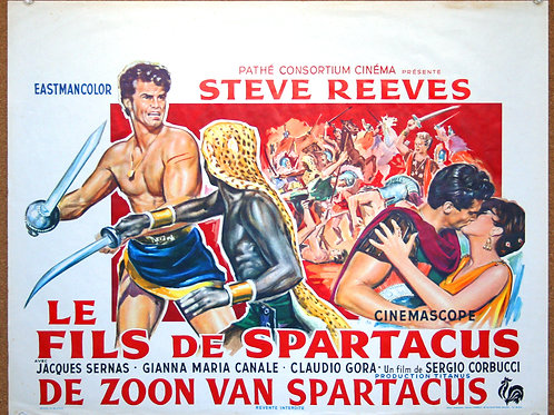 The Slave, Son of Spartacus, 1962