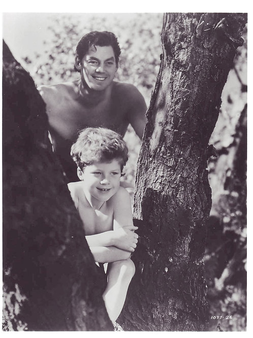 Tarzan with His Son