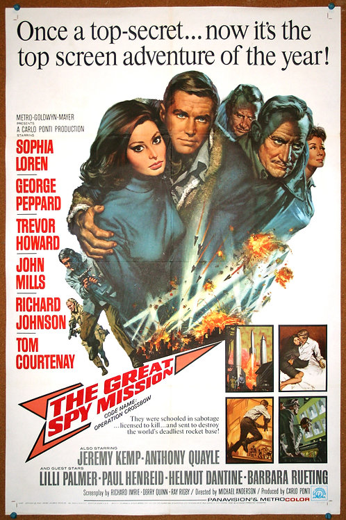 The Great Spy Mission, 1965