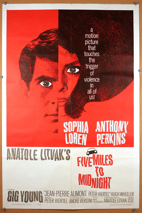 Five Miles to Midnight, 1962