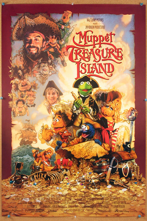 Muppet Treasure Island, 1996