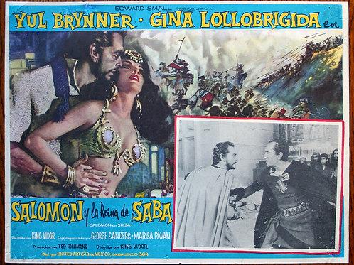 Solomon and Sheba, 1956