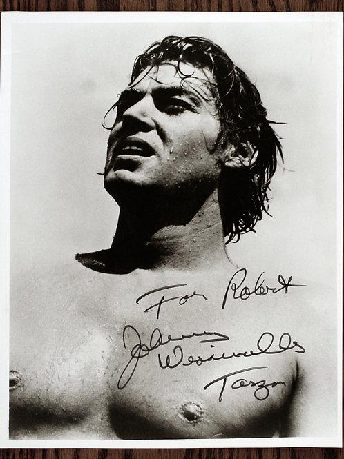 Johnny Weissmuller signature