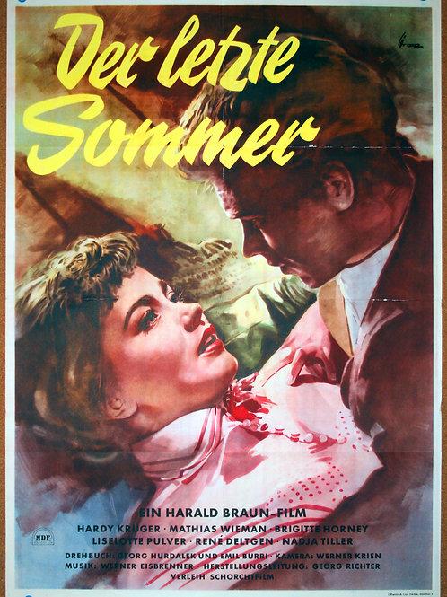The Last Summer, 1954
