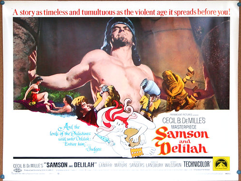 Samson and Delilah, 1949