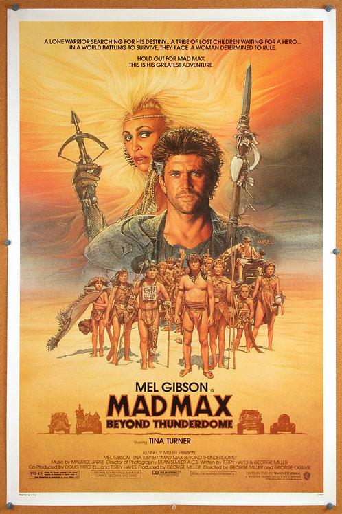 Mad Max Beyond Thunderdome, 1985