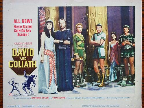 David and Goliath, 1960