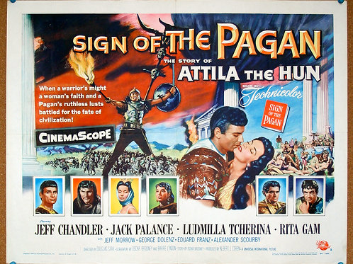 Sign of the Pagan, 1954