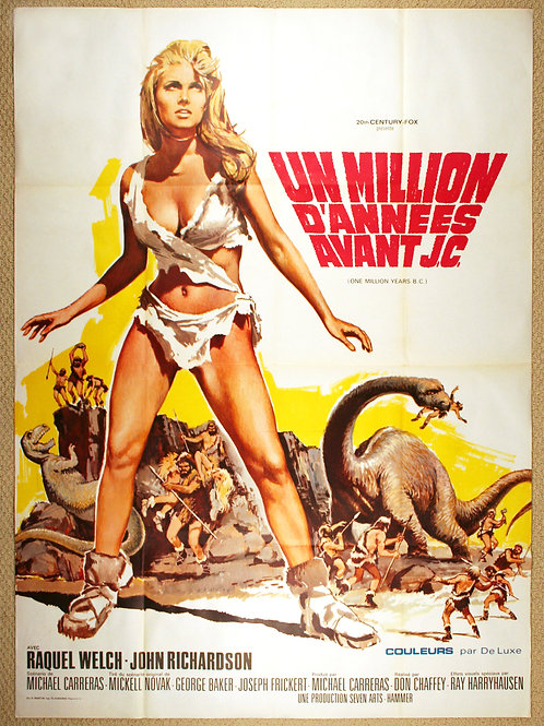 One Million Years B.C., 1966