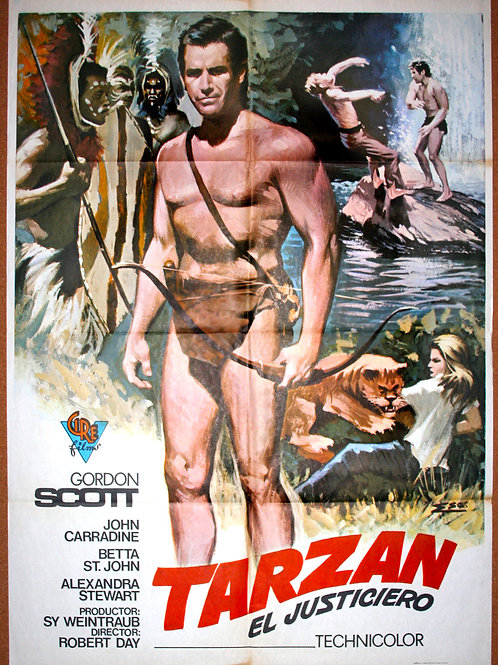 Tarzan The Magnificent, 1960