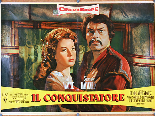 The Conqueror, 1956