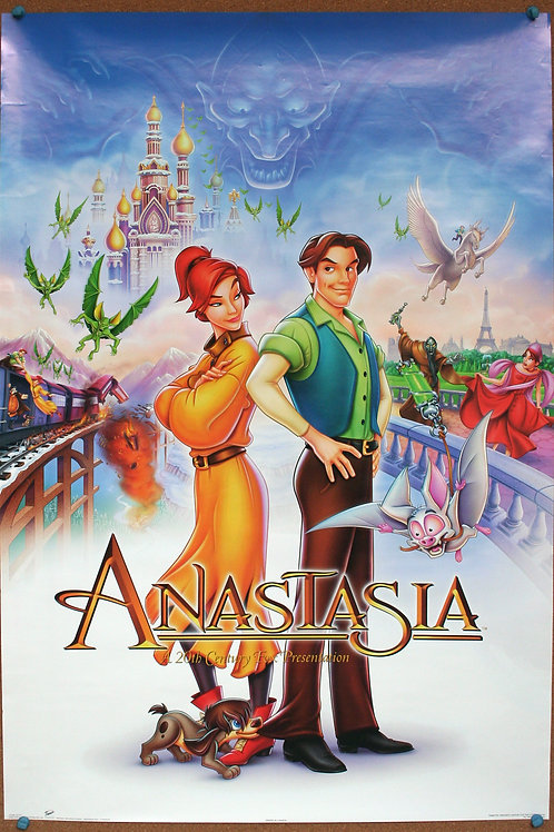 Anastasia (Disney animated feature) 1997