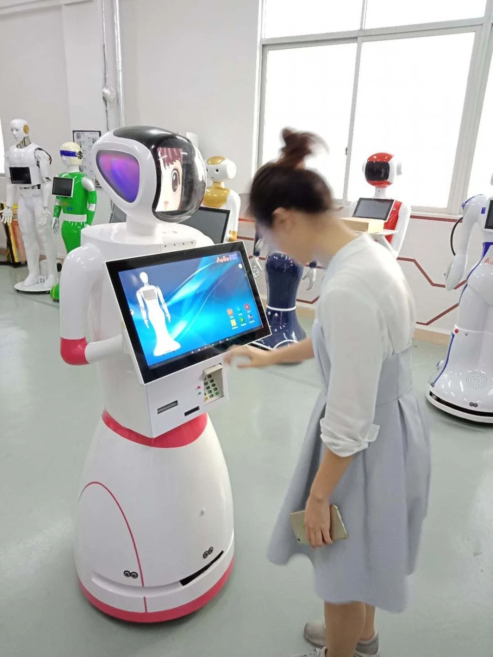 Smart Bank Robot